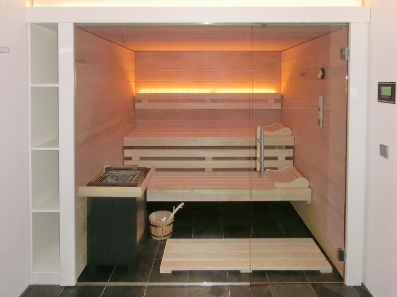 glassauna schreiner straub wellness wohnen. Black Bedroom Furniture Sets. Home Design Ideas