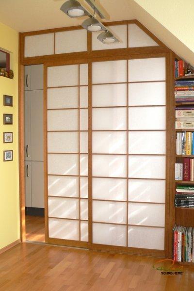 Bücherregal Dachschräge shoji raumteiler schreiner straub wellness wohnen