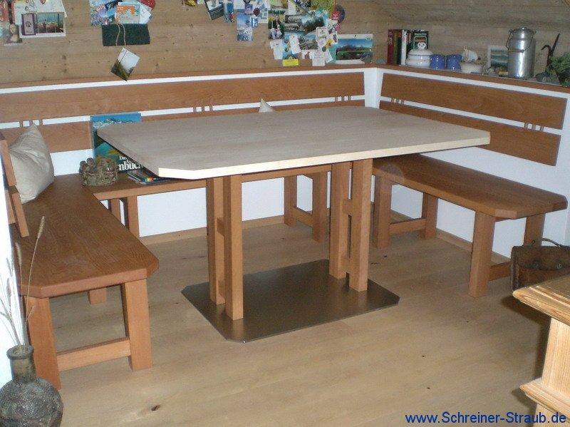 Tisch und esszimmer schreiner straub wellness wohnen for Esstisch mit granitplatte