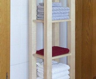 Badezimmer - Handtuchregal