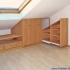 Schräge Möbel - Einbauschrank