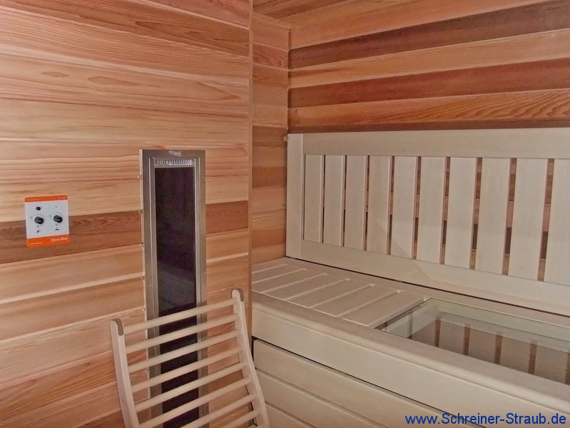 infrarotsauna die sauna mit dem mehrwert schreiner straub. Black Bedroom Furniture Sets. Home Design Ideas