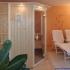 Sauna, Fichte - Seitenansicht