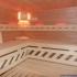 Sauna, Erle - Innenansicht, Farbspiel