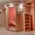 Sauna - Hemlock / Fichte - Außenansicht, seitlich