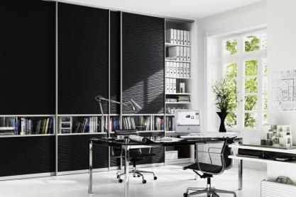 Büro - Gleittür-Einbauschrank