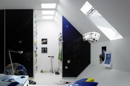 UFO-Kinderzimmerschrank