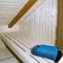 Gartensauna - Balkon Sauna - Inneneinrichtung