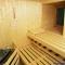 Sauna, rund - Inneneinrichtung