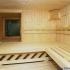 Sauna, rund - Innenansicht, Fenster