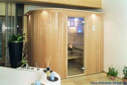Sauna, rund - Außenansicht