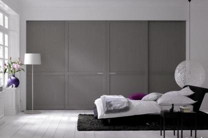 Schlafzimmer - Einbau-Schiebetürschrank