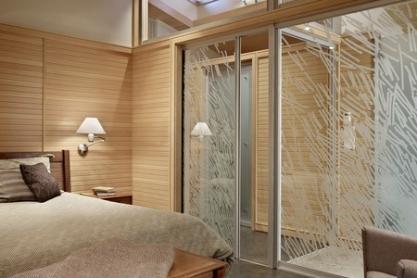 Glasschiebetüren, helle Räume