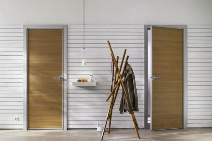 Zimmertüren von raumplus, querfurniert