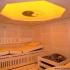 Massivholz-Sauna - Inneneinrichtung