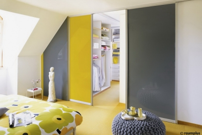 Schiebetüren Raumteiler - Dachschräge