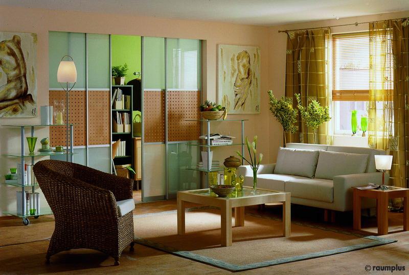 wohnzimmer mit raumteiler. Black Bedroom Furniture Sets. Home Design Ideas