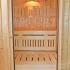 Sauna - Dachschräge - Innenansicht