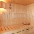 Sauna - Dachschräge - Inneneinrichtung