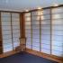 Shoji - Schiebetür Einbauschrank - Vorzimmer - Eckansicht, beleuchtet