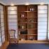 Shoji - Schiebetür Einbauschrank - Vorzimmer - teilweise geöffnet, beleuchtet