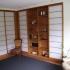 Shoji - Schiebetür Einbauschrank - Vorzimmer - Eckansicht, teilweise geöffnet
