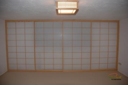 Shoji Fenster - Fichte, geölt