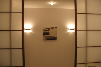 Shoji Schiebetür Raumteiler - Badezimmer