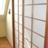 Shoji Schiebetür Raumteiler - Esszimmer - Kirschbaum, geölt - Seitenansicht