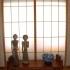 Shoji Schiebetür Fenster - Schlafzimmer - Zeder, geölt - Fenster links