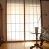Shoji Schiebetür Fenster - Schlafzimmer - Zeder, geölt - Fenster rechts