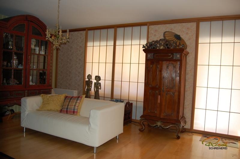 shoji fenster schreiner straub wellness wohnen. Black Bedroom Furniture Sets. Home Design Ideas