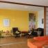 Shoji Schiebetür Raumteiler - Wohnzimmer - Zeder, geölt - geöffnet, alle Türen rechts