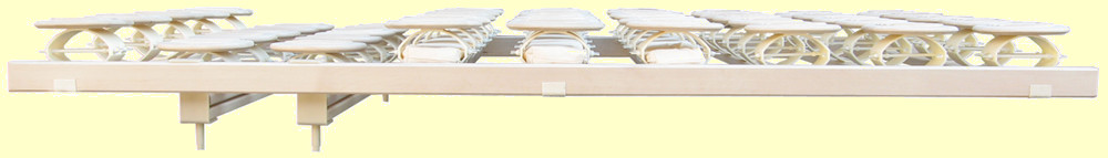 Tellerlattenrost Relax 2000 - Schulterabsenkung