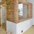 Badezimmer Sauna - Altholzsauna - Außenansicht