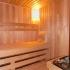 Badezimmer Sauna - Kernapfel Dekor - Innenansicht