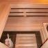 Badezimmer Sauna - Kernapfel Dekor - Innenansicht, Einrichtung