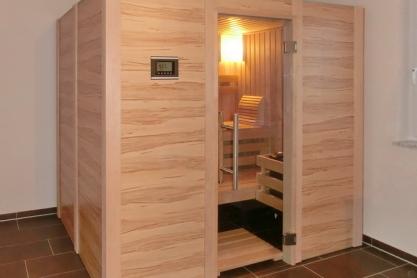 Badezimmer Sauna - Kernapfel Dekor