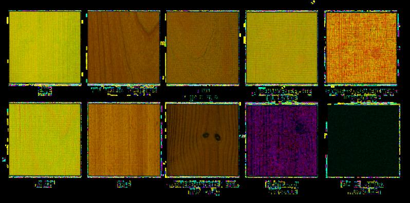Harvia - Holzarten für Liegen