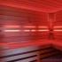 Wellness Sauna - Farblichttherapie - hellrot
