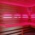 Wellness Sauna - Farblichttherapie - pink