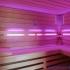 Wellness Sauna - Farblichttherapie - violett