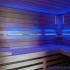 Wellness Sauna - Farblichttherapie - blau