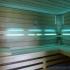 Wellness Sauna - Farblichttherapie - türkis