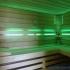 Wellness Sauna - Farblichttherapie - grün