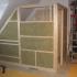 Saunaeinbau - Dachschräge - Dämmung der Außenwand