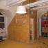 Saunaeinbau - Dachschräge - Außenwand