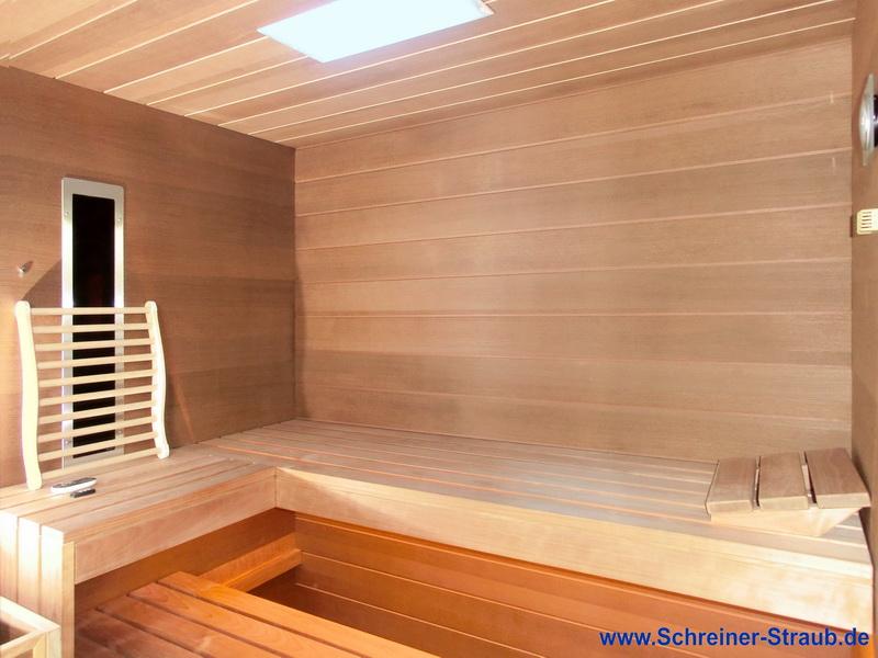 sauna im kleinen badezimmer innenr ume und m bel ideen. Black Bedroom Furniture Sets. Home Design Ideas