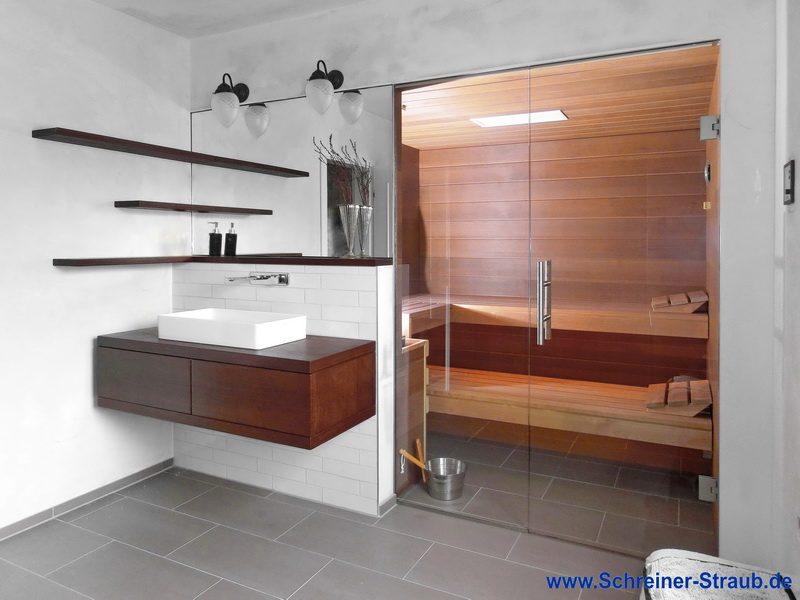 Beautiful Kleine Sauna Fürs Badezimmer Ideas - hiketoframe.com ...