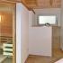 Geräumige Sauna im Badezimmer - Deckenanschluss